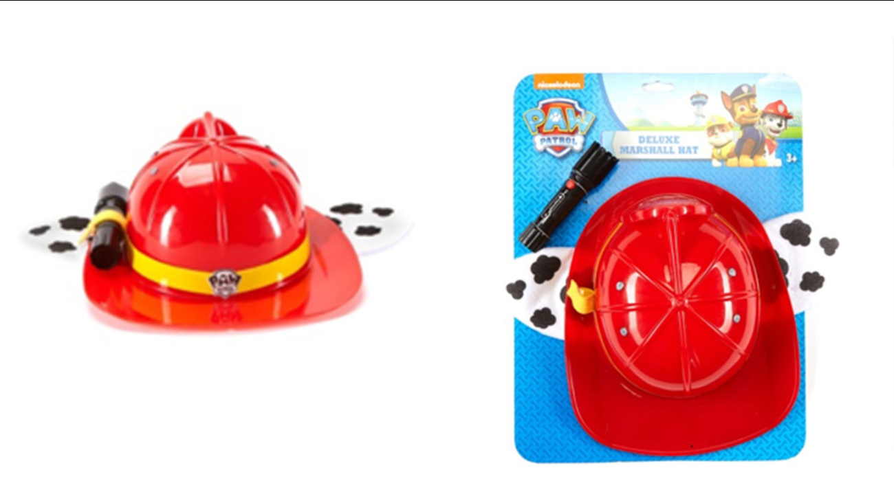 20,000 'Paw Patrol' hats with flashlight recalled due to fire hazard