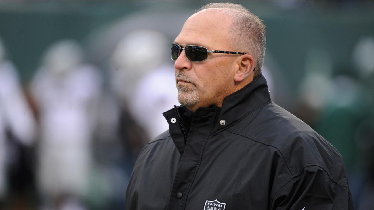 Oakland Raiders interim head coach Tony Sparano.
