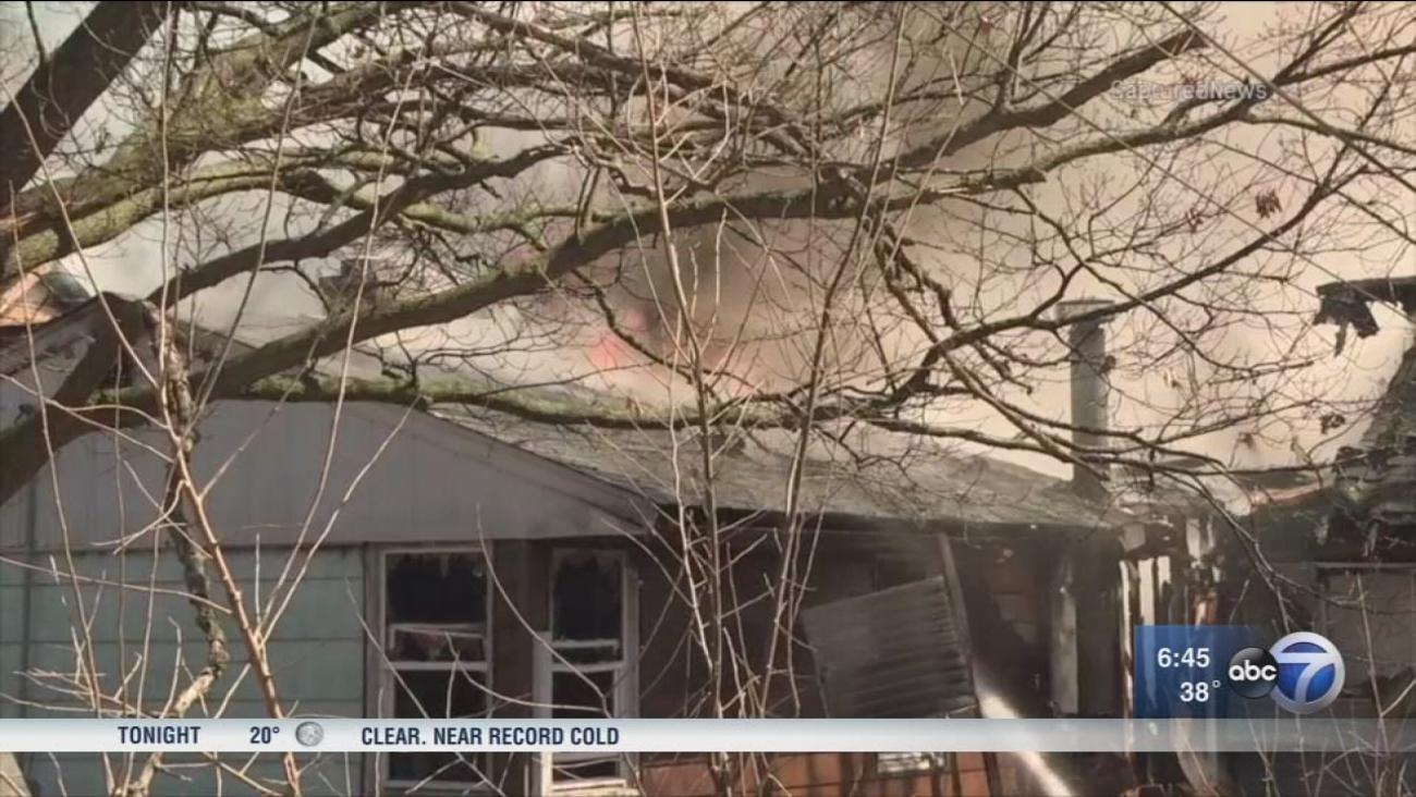 2 Alarm Fire Leaves Person Dead In Unincorporated Glen Ellyn