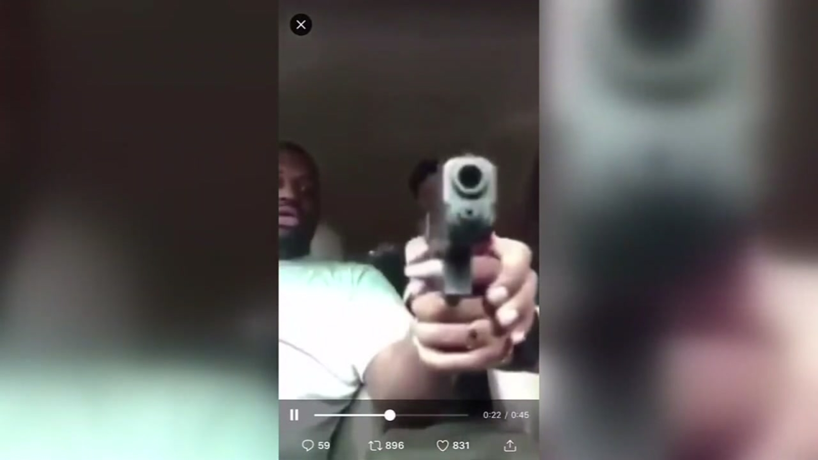 Family of man shot on Facebook Live says he opened his eyes and