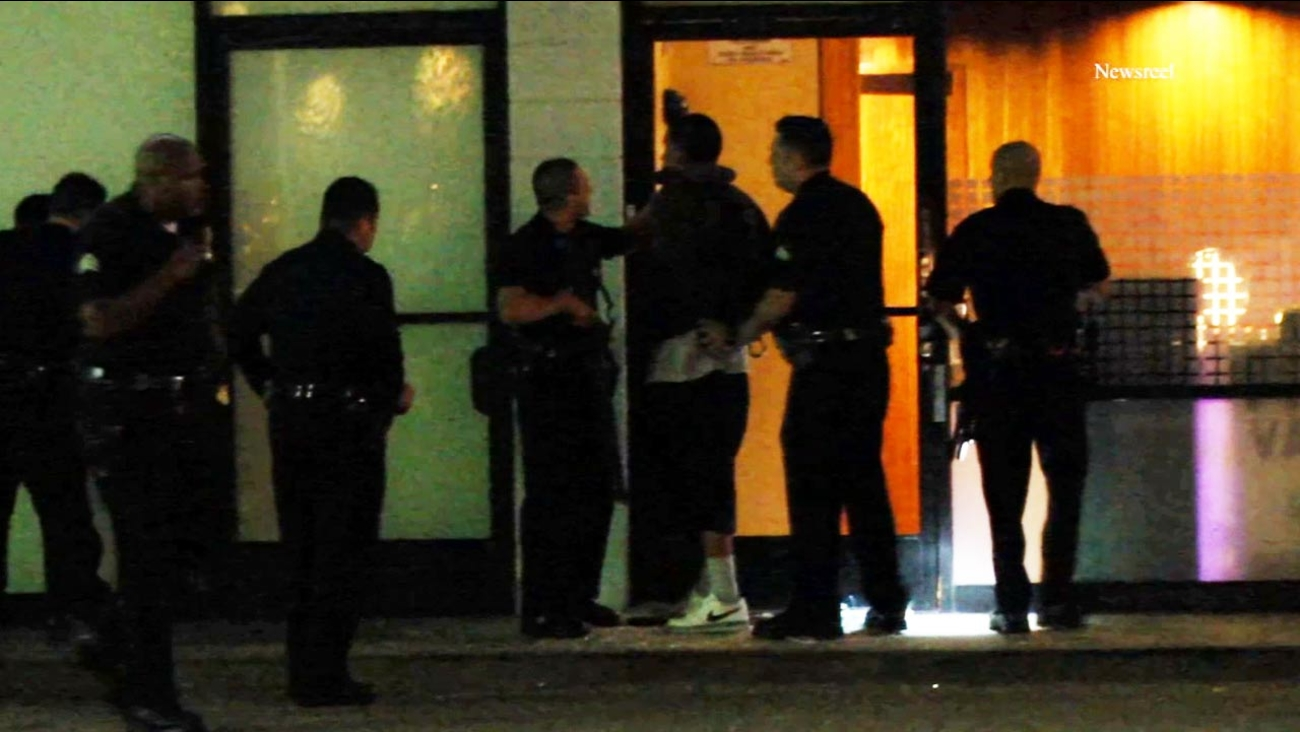 Studio City medical marijuana shop employees hide out during