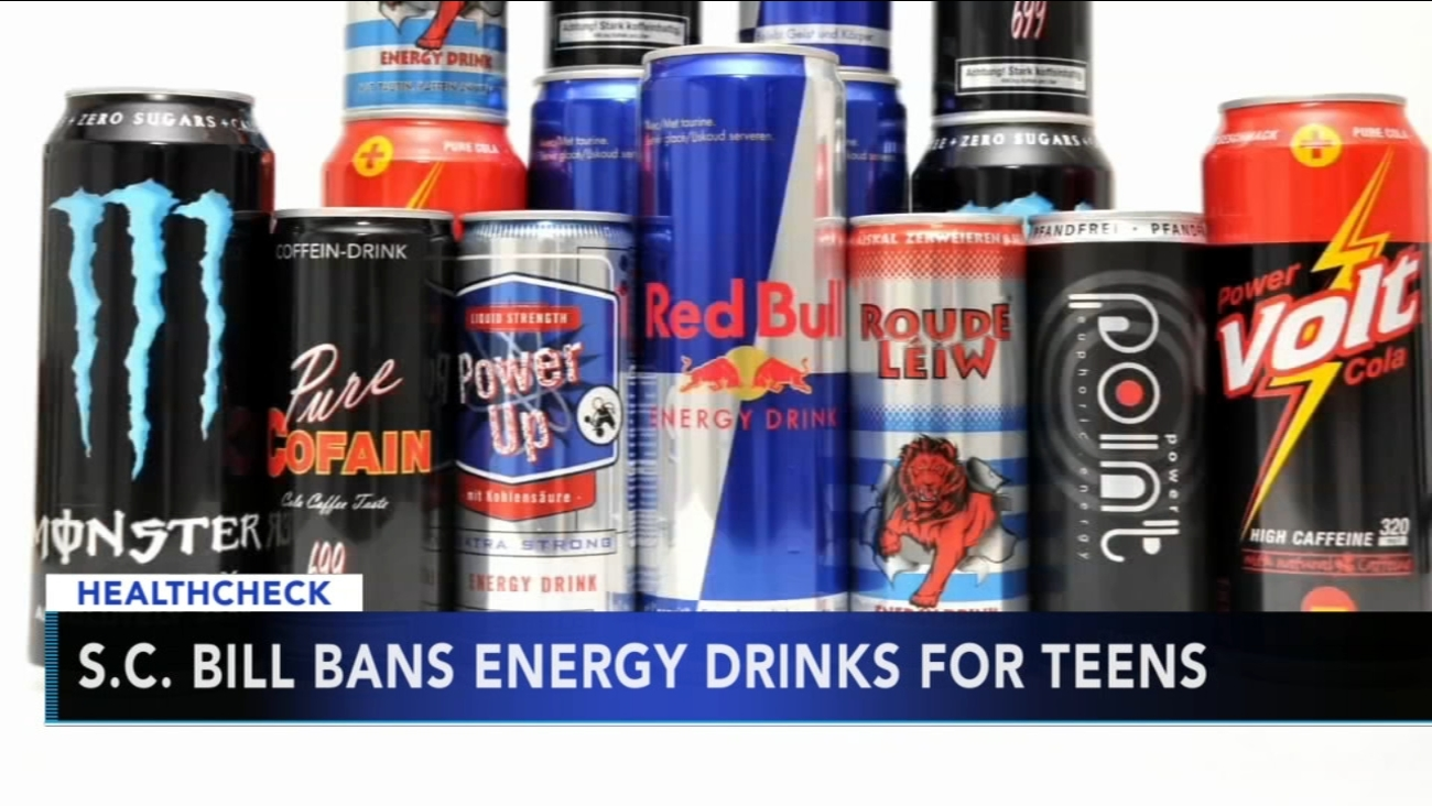Proposed bill could make it illegal for teens to buy energy drinks in S.C.