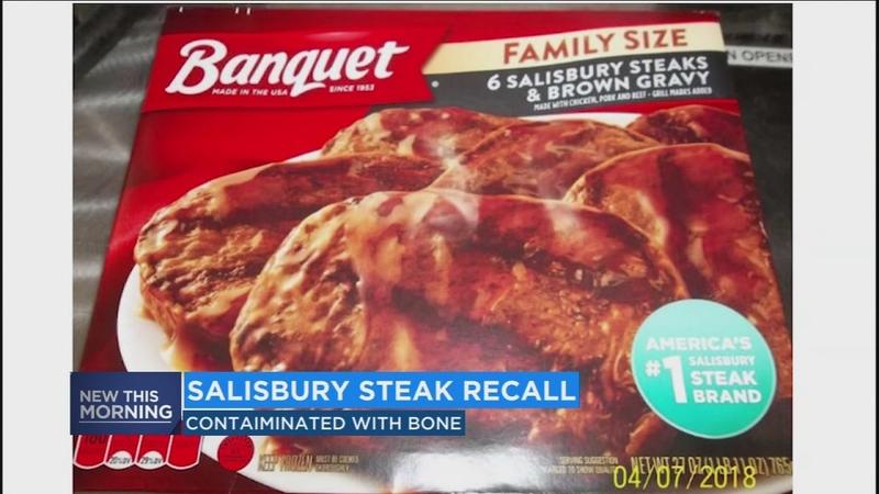 135,000 pounds of Salisbury steak recalled   abc11 com