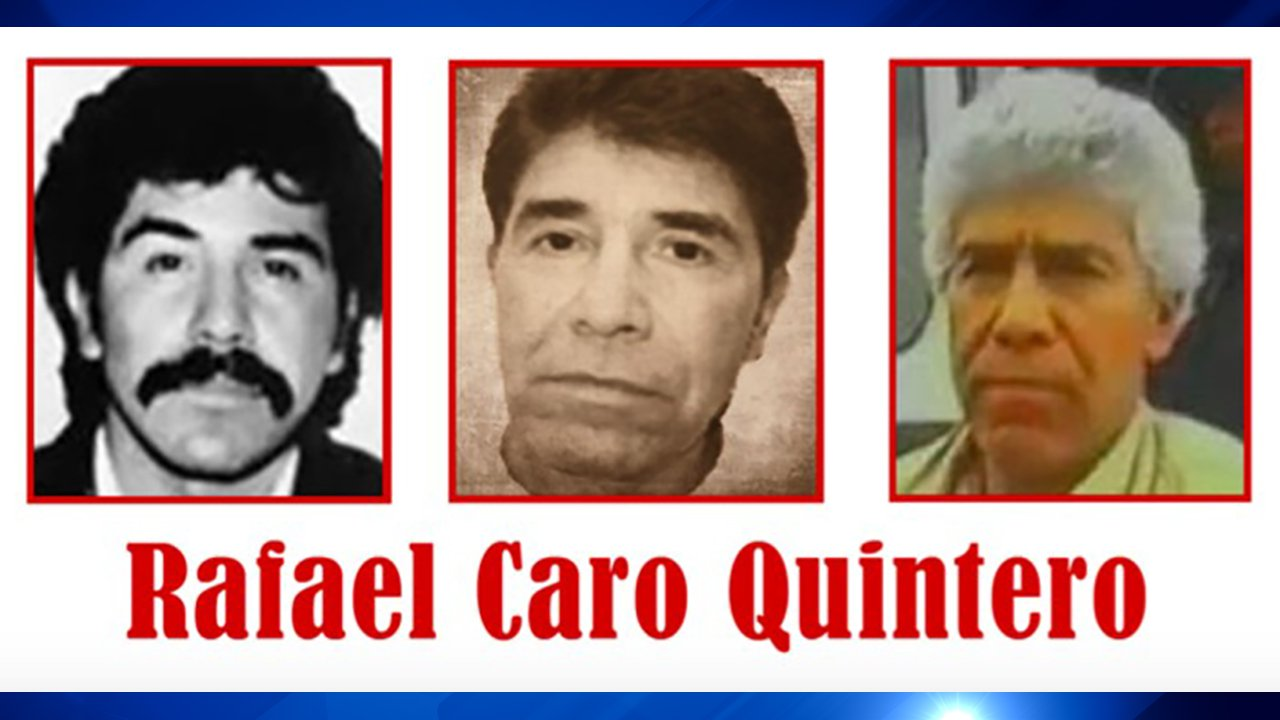 """The narco of narcos"" Rafael Caro Quintero now on Top 10 Most Wanted list"