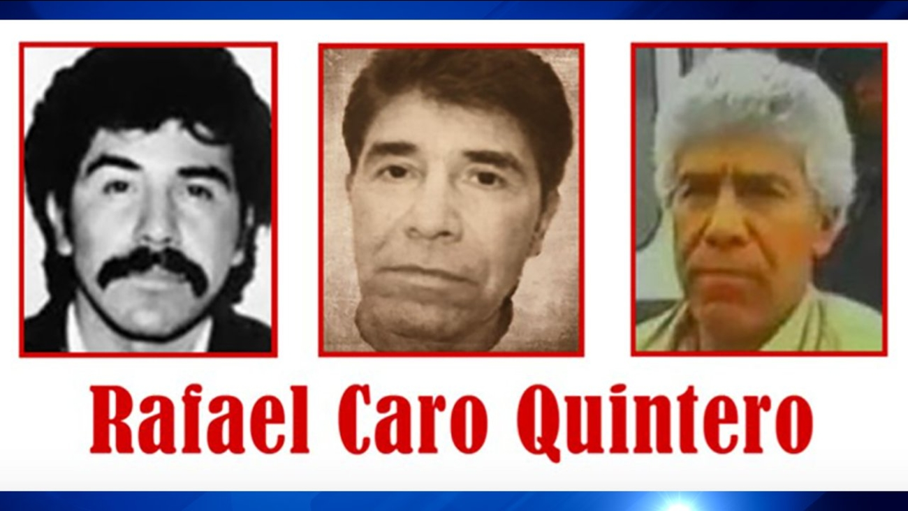 """""""The narco of narcos"""" Rafael Caro Quintero now on Top 10 Most Wanted list"""