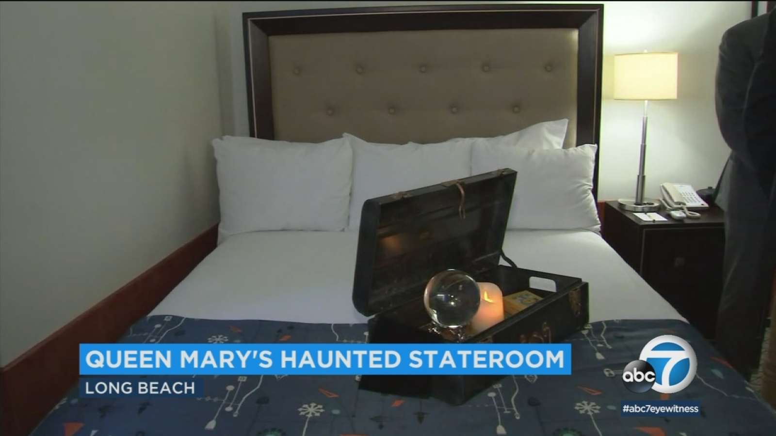 Long Beachs Queen Mary Is Renting Out Its Most Haunted Room