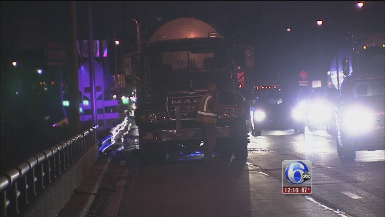 VIDEO: Tanker catches fire on I-95