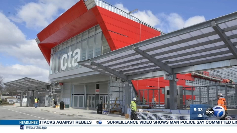 South terminal of CTA 95th Street station re-opens after renovation