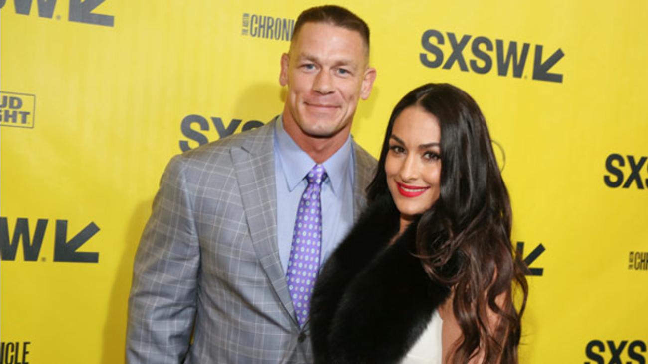 Nikki Bella And John Cena Wedding.Engaged Wwe Stars John Cena And Nikki Bella Break Up Abc7ny Com
