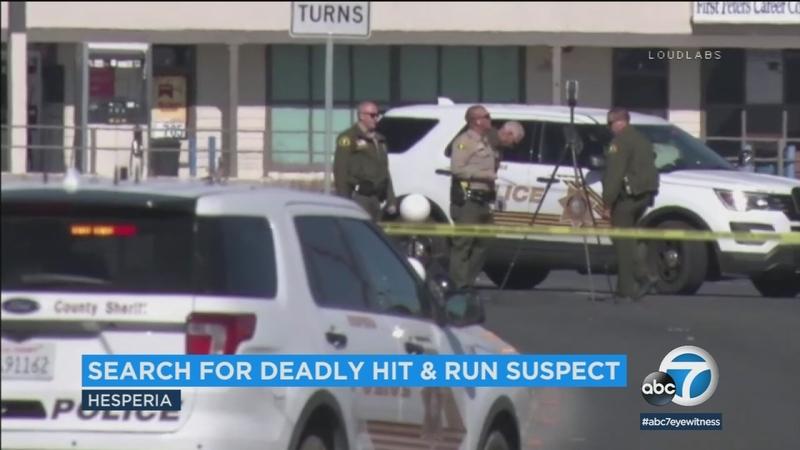 Hesperia woman, 62, killed in hit-and-run