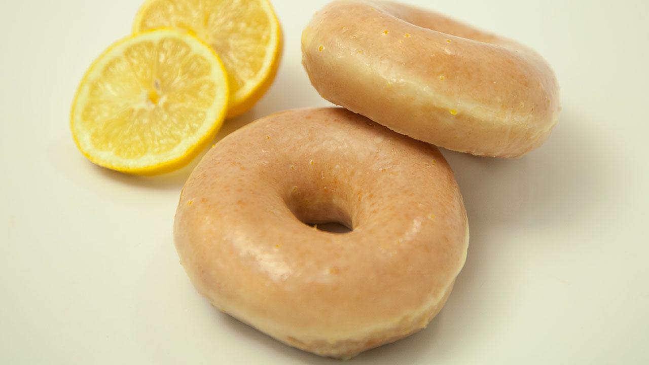Krispy Kreme will serve a brand new Lemon Glaze Doughnut for a limited-time starting next week.