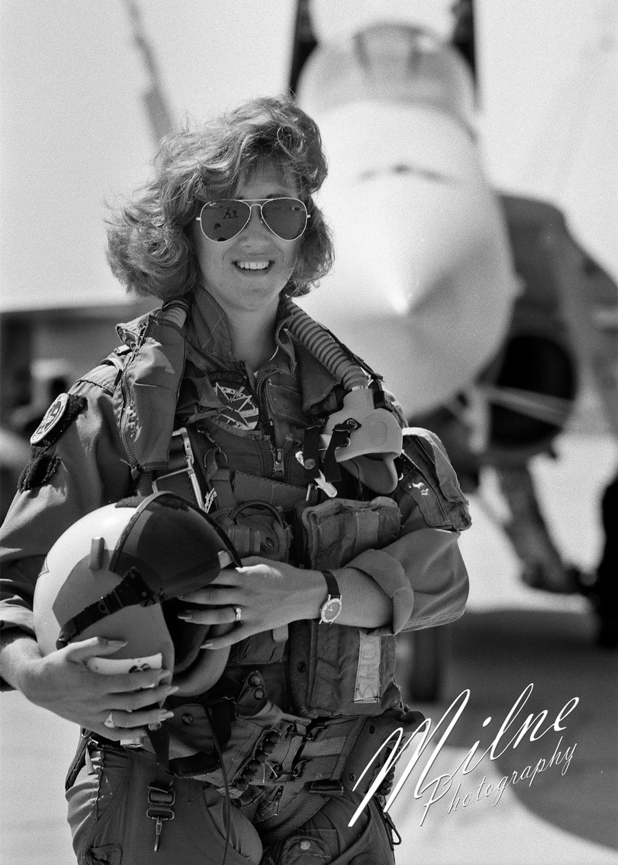 "<div class=""meta image-caption""><div class=""origin-logo origin-image none""><span>none</span></div><span class=""caption-text"">Image of Tammie Jo Shults taken by Tom Milne in 1992 when he was a Navy Photojournalist. (Tom Milne / Milne Photography)</span></div>"