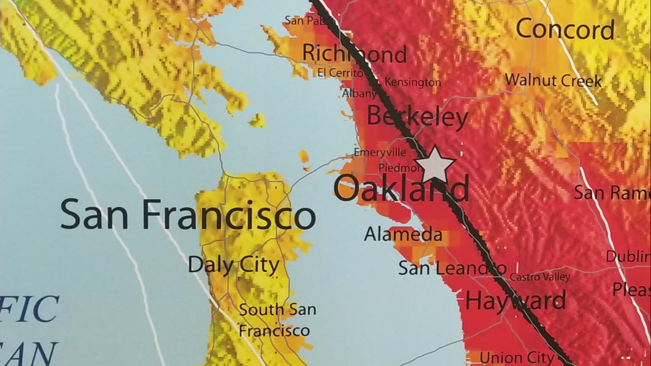 San Ramon Earthquake Map.Earthquake Experts Say Swarm Of East Bay Quakes Good Reminder To Be