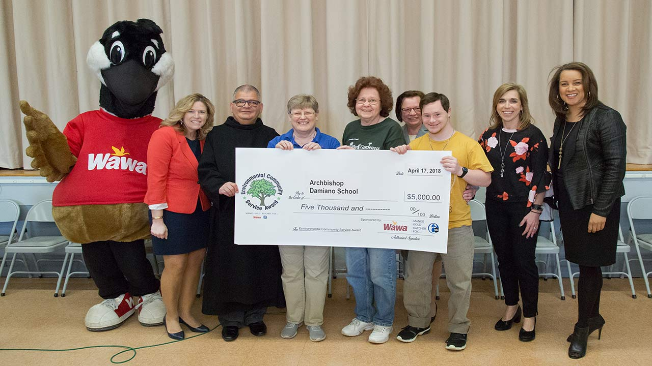 <div class='meta'><div class='origin-logo' data-origin='WPVI'></div><span class='caption-text' data-credit=''>New Jersey schools awarded money towards environment programs.<br>Archbishop Damiano School in Westville, Gloucester County and Penns Grove High School in Carney's Point, Salem Co.</span></div>