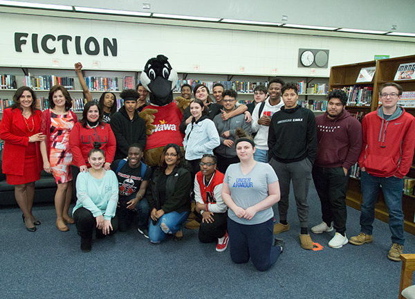 """<div class=""""meta image-caption""""><div class=""""origin-logo origin-image wpvi""""><span>WPVI</span></div><span class=""""caption-text"""">New Jersey schools awarded money towards environment programs. Archbishop Damiano School in Westville, Gloucester County and Penns Grove High School in Carney's Point, Salem Co.</span></div>"""