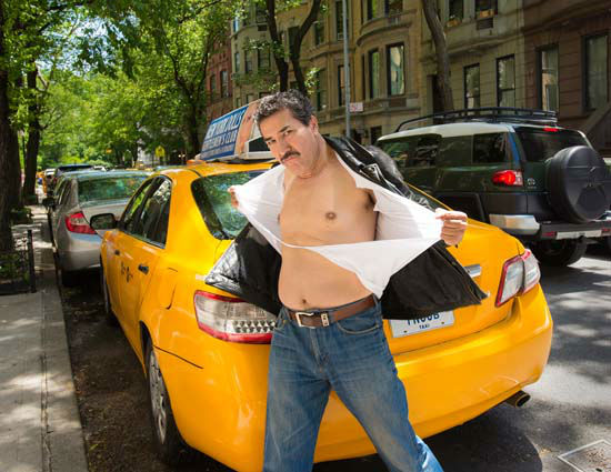 """<div class=""""meta image-caption""""><div class=""""origin-logo origin-image """"><span></span></div><span class=""""caption-text"""">NYC cab drivers are coming out from behind the wheel and into the spotlight in the NYC Taxi Drivers Calendar. A portion of the calendar proceeds benefit charity. (KTRK Photo/ Shannon McLaughlin, nyctaxicalendar.com)</span></div>"""