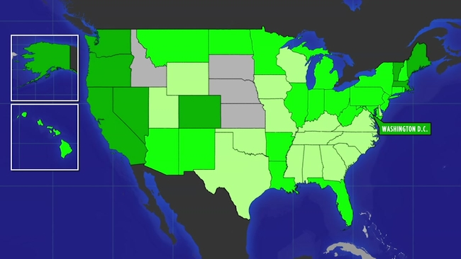 MAP: Where is weed legal?   abc7news.com