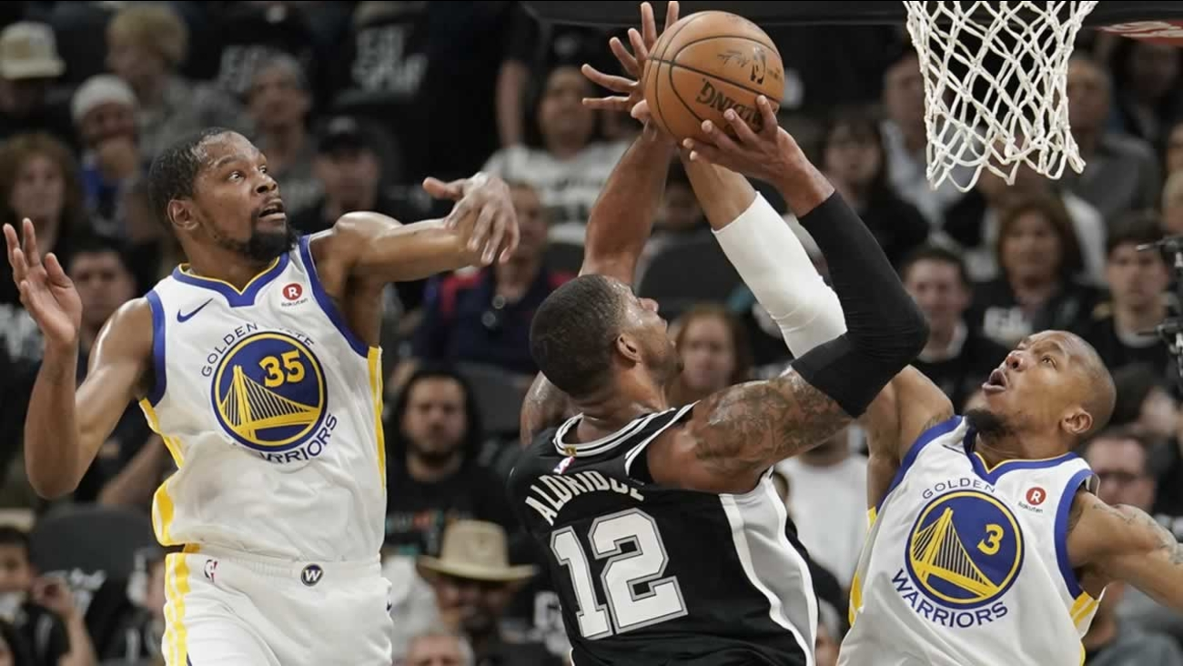e92fc1a31307 San Antonio Spurs beat Golden State Warriors 103-90 to avoid sweep ...