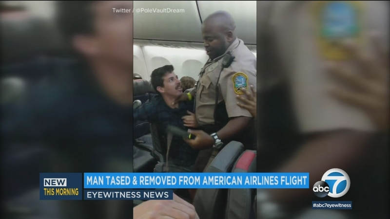 Police remove unruly passenger from flight to Chicago