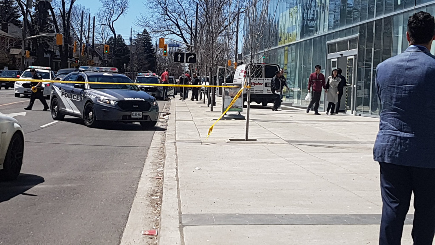 """<div class=""""meta image-caption""""><div class=""""origin-logo origin-image none""""><span>none</span></div><span class=""""caption-text"""">A white van hit pedestrians in Toronto,Canada, killing 9 people and injuring 16 more. (SophflyPro/Twitter)</span></div>"""