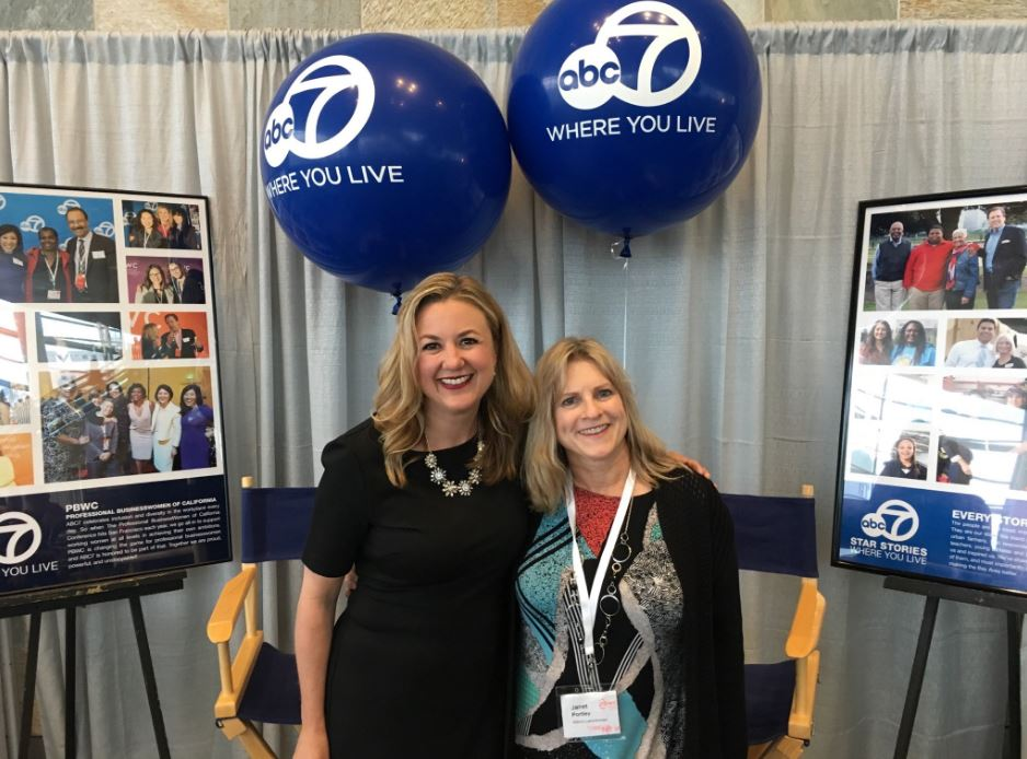 "<div class=""meta image-caption""><div class=""origin-logo origin-image none""><span>none</span></div><span class=""caption-text"">ABC7's Amy Hollyfield and viewer Janet Portley are seen at the Professional BusinessWomen of California Conference in San Francisco on Tuesday, April 24, 2017. (KGO-TV)</span></div>"