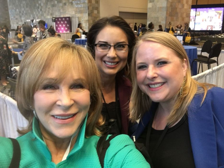 <div class='meta'><div class='origin-logo' data-origin='none'></div><span class='caption-text' data-credit='KGO-TV'>Attendees are seen at the Professional BusinessWomen of California Conference in San Francisco on Tuesday, April 24, 2017.</span></div>