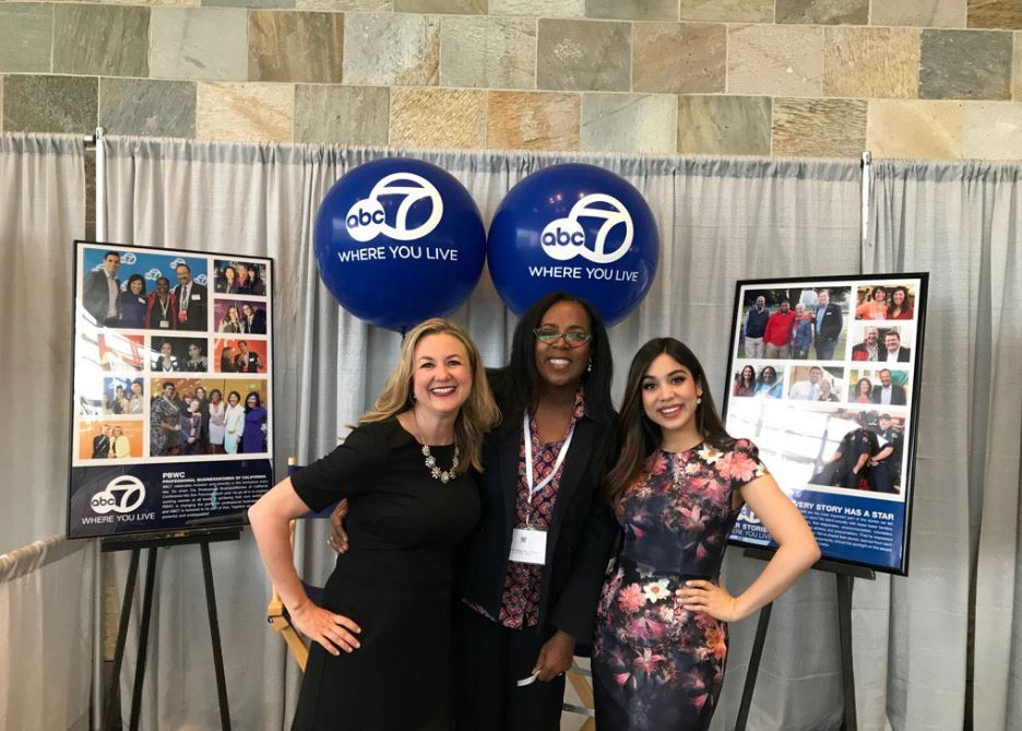 "<div class=""meta image-caption""><div class=""origin-logo origin-image none""><span>none</span></div><span class=""caption-text"">ABC7's Amy Hollyfield and Natasha Zouves are seen with an attendee at the Professional BusinessWomen of California Conference in San Francisco on Tuesday, April 24, 2017. (Submitted to KGO-TV by Twitter user @Kimberl51441165.)</span></div>"