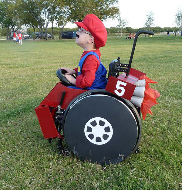 "<div class=""meta image-caption""><div class=""origin-logo origin-image ""><span></span></div><span class=""caption-text"">Halloween 2010 with Caleb, 5, as Mario driving his kart. (Cassie McLelland)</span></div>"