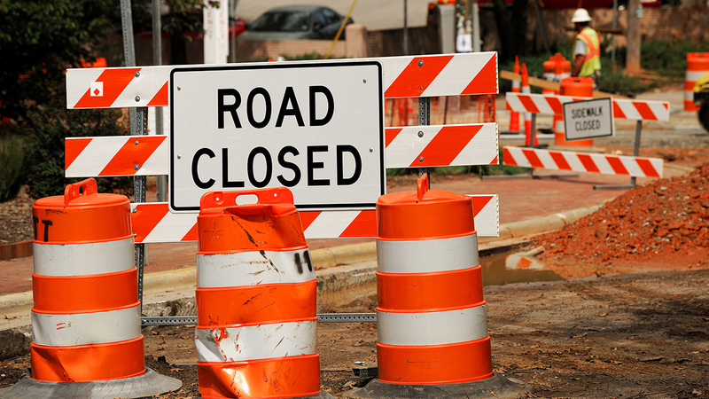 What you need to know about this weekend's road closures