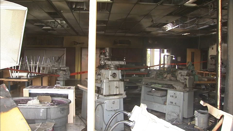 Fire at Upper Perk HS ruled accidental