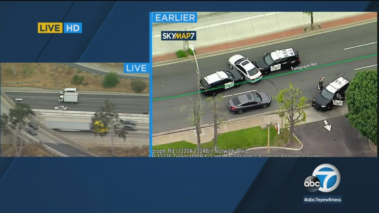 California Chase Suspect Gives Up After Winding Pursuit