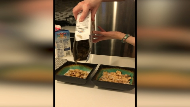 Debate which do you pour first cereal or milk abc7news ccuart Image collections