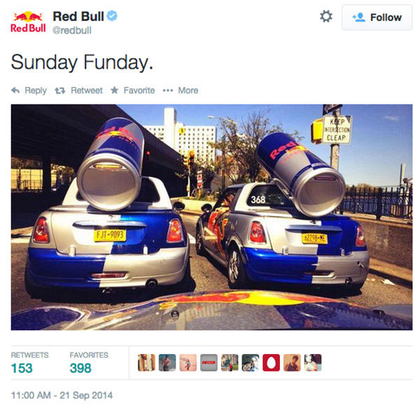 "<div class=""meta image-caption""><div class=""origin-logo origin-image ""><span></span></div><span class=""caption-text"">Red Bull agreed to pay out $13M in a class action settlement over their slogan and marketing tactics. Plantiff claims the energy drink did not ""give him wings."" (Red Bull/Twitter)</span></div>"