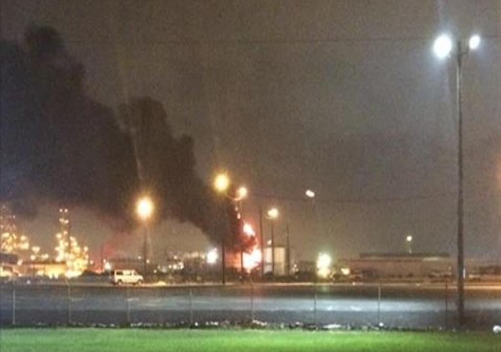 No one hurt in tank fire at plant in La Porte | abc13 com