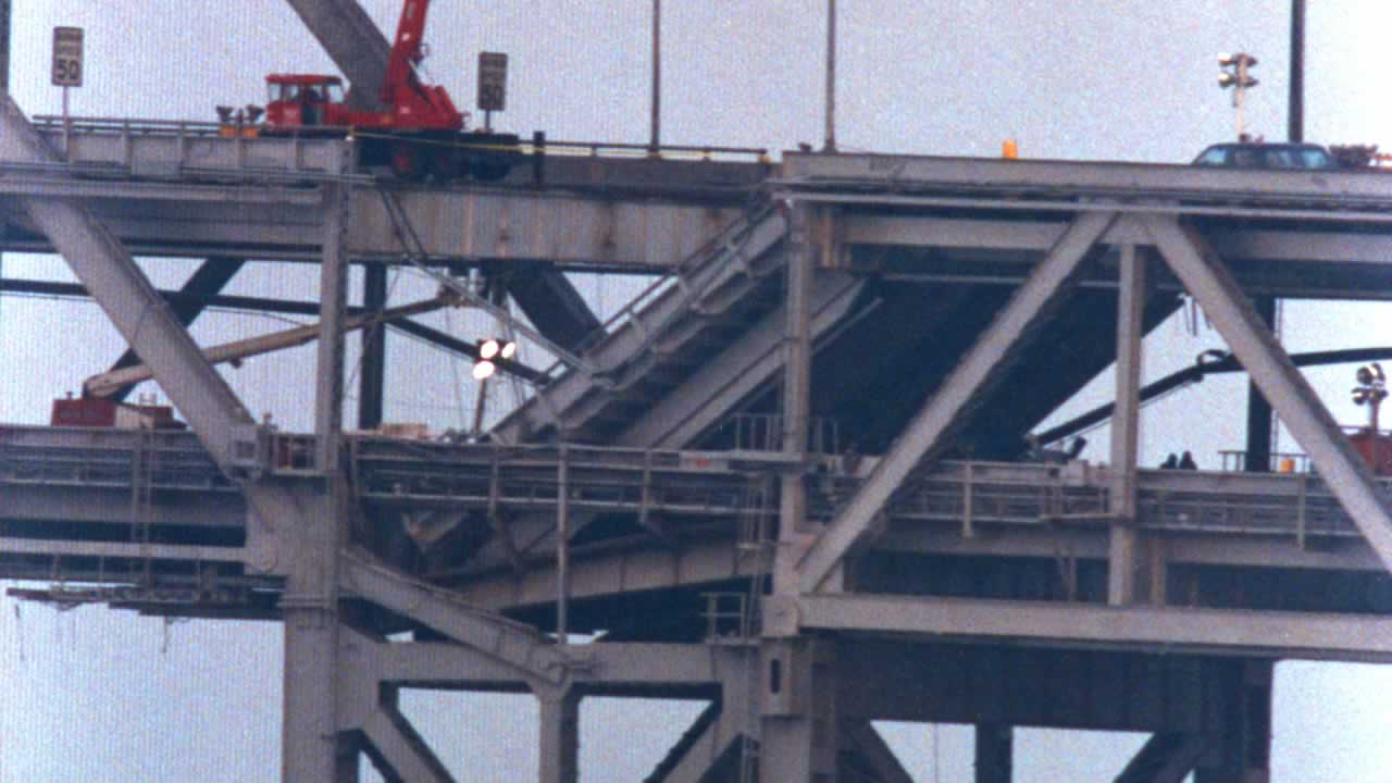 <div class='meta'><div class='origin-logo' data-origin='none'></div><span class='caption-text' data-credit='Garibaldi Studios, San Lorenzo, CA'>Collapsed segment of the Bay Bridge</span></div>
