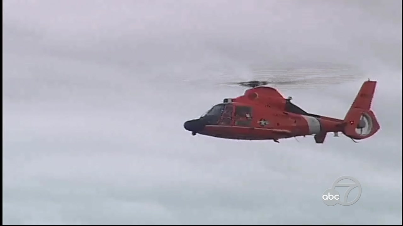 A Coast Guard helicopter is seen in this undated image.