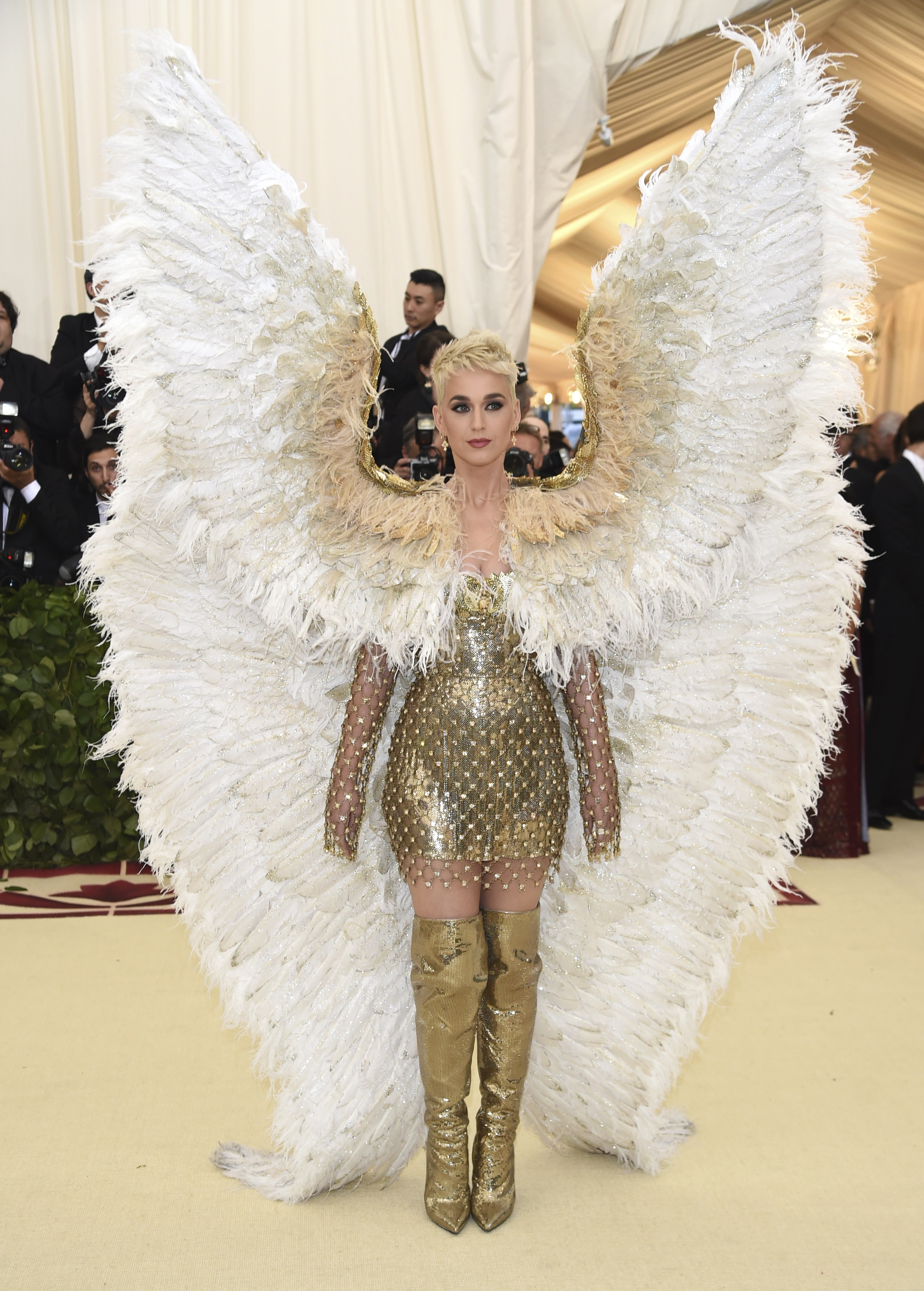 <div class='meta'><div class='origin-logo' data-origin='none'></div><span class='caption-text' data-credit='Evan Agostini/Invision/AP'>Katy Perry (Photo by Evan Agostini/Invision/AP)</span></div>