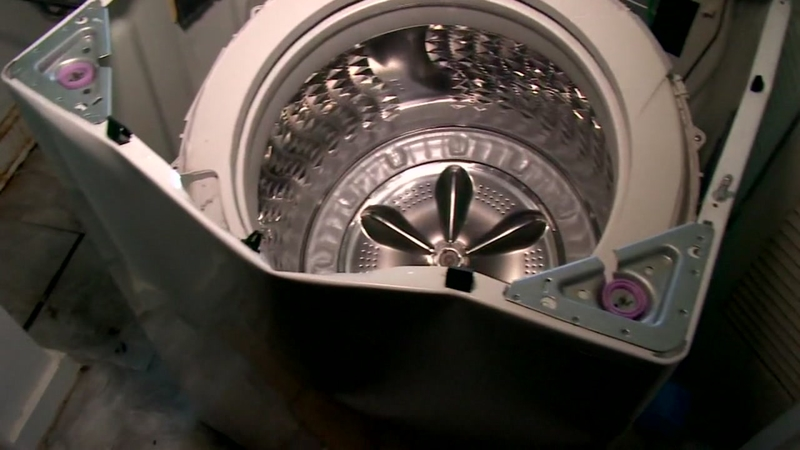 Washing machine explodes in Texas family's home