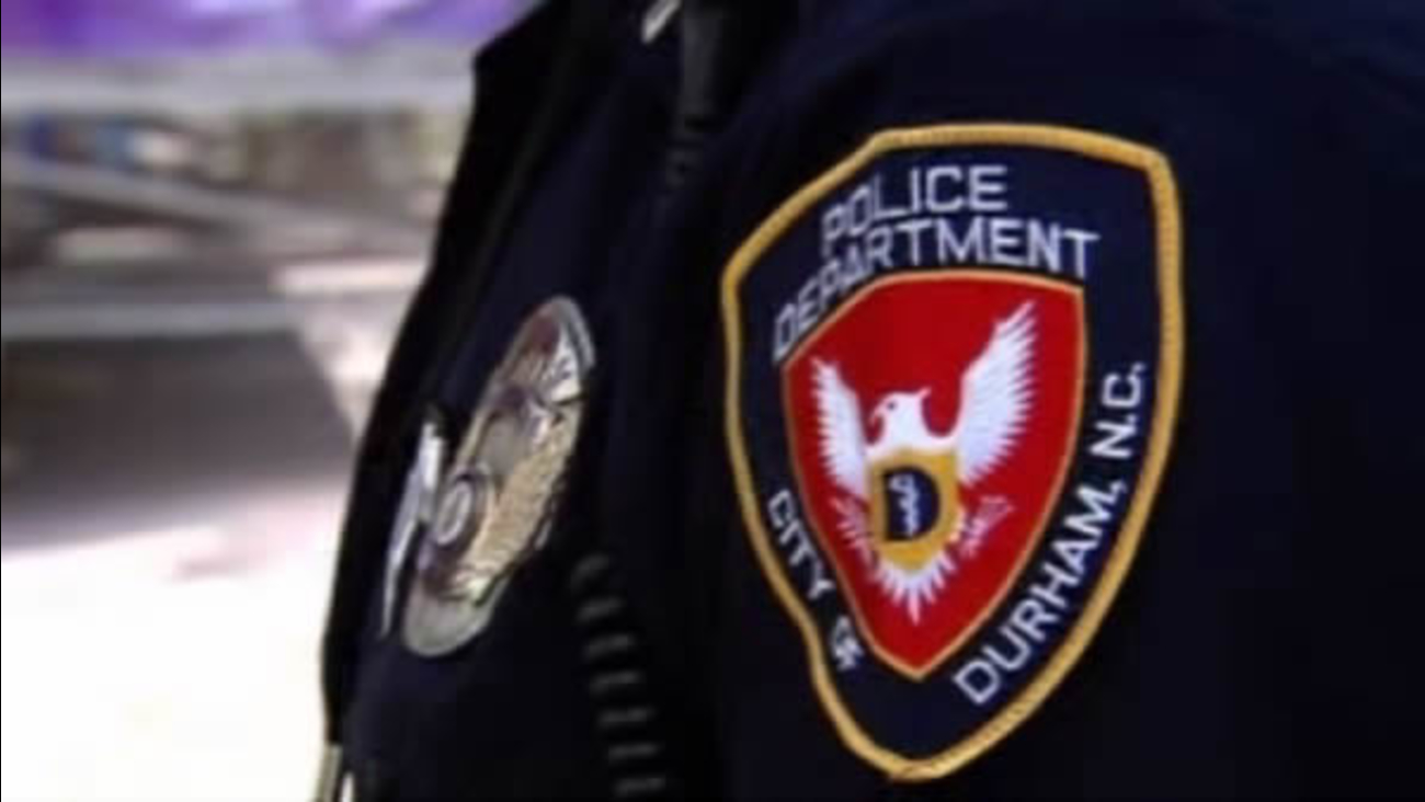 Durham police sleeve patch