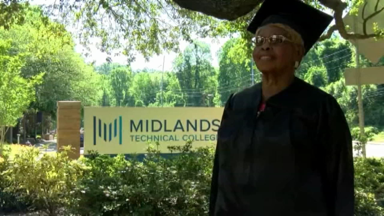92-year-old college graduate: You can make it, if you try   abc7news.com