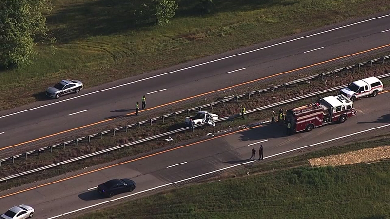 Fatal crash shuts down US64 in Nash County