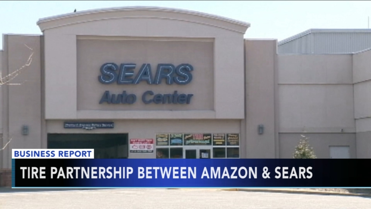 Amazon And Sears Make Tire Installation Deal 6abc Com