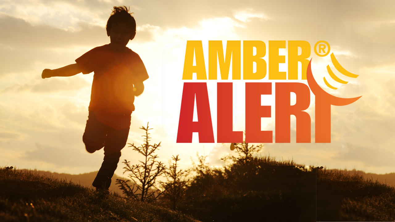What are the criteria for issuing an Amber Alert?