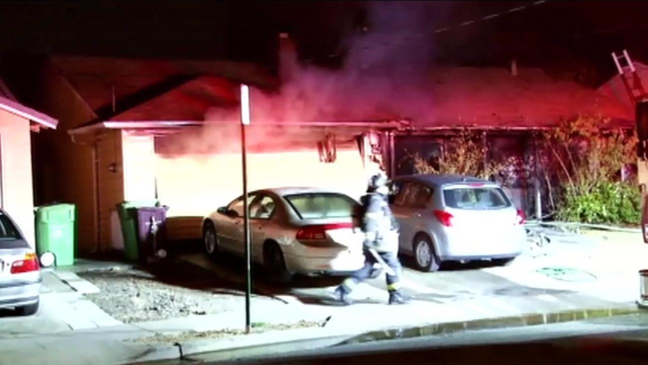 Elderly man dies in Hayward house fire
