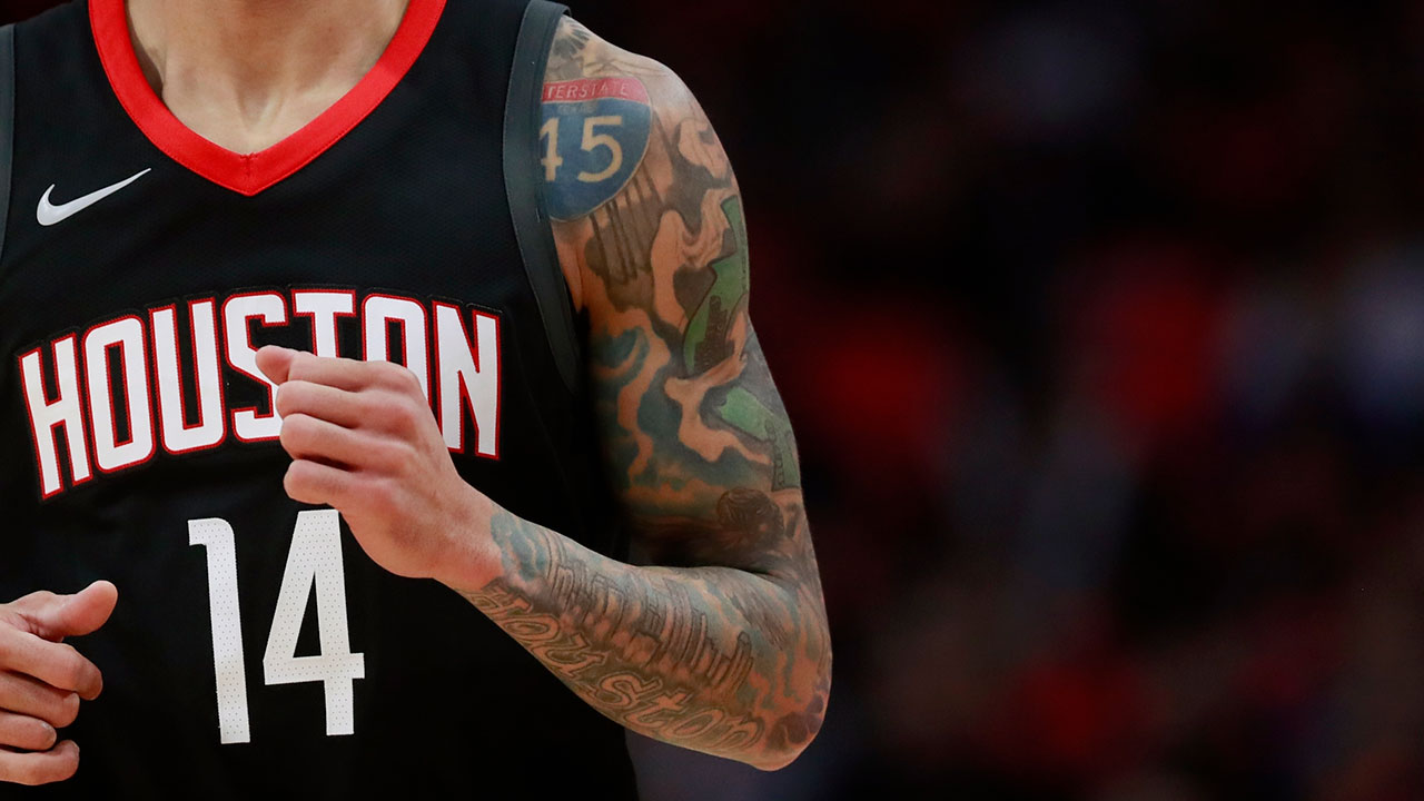 Rockets\' Gerald Green is so Houston, he even has an I-45 tattoo ...