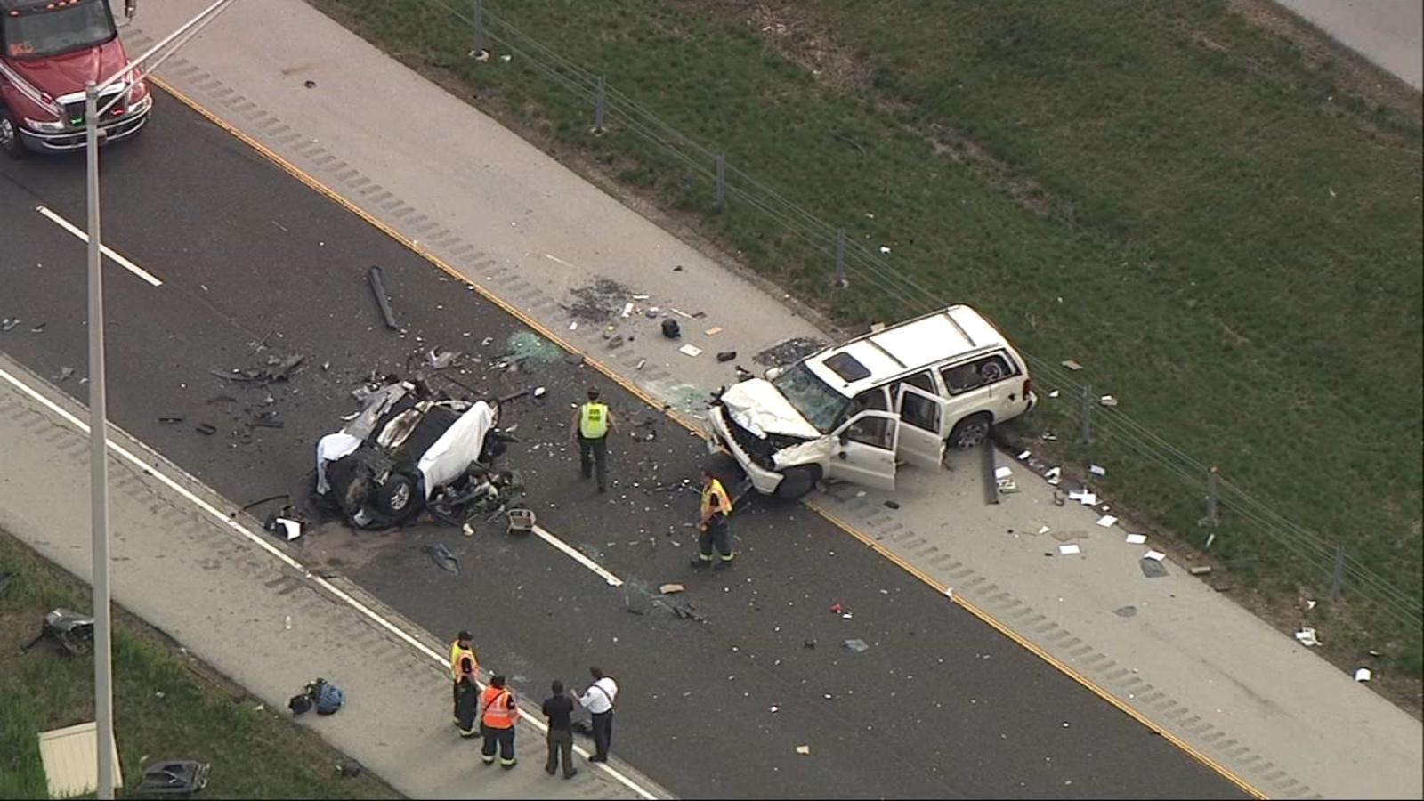 1 killed in I-57 crash in Will County