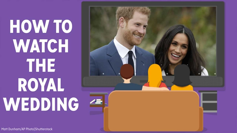Royal Wedding Watch.How To Watch The Royal Wedding