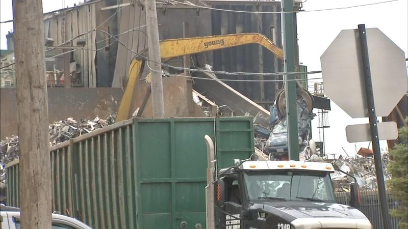Neighbors say Lincoln Park scrap yard creates toxic mess