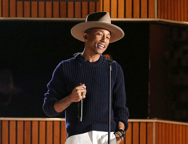 "<div class=""meta image-caption""><div class=""origin-logo origin-image ""><span></span></div><span class=""caption-text"">Artist of the Year nominee Pharrell Williams (AP Photo/ Matt Sayles)</span></div>"