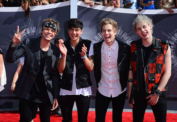 "<div class=""meta image-caption""><div class=""origin-logo origin-image ""><span></span></div><span class=""caption-text"">New Artist of the Year nominee 5 Seconds of Summer (AP Photo/ Jordan Strauss)</span></div>"